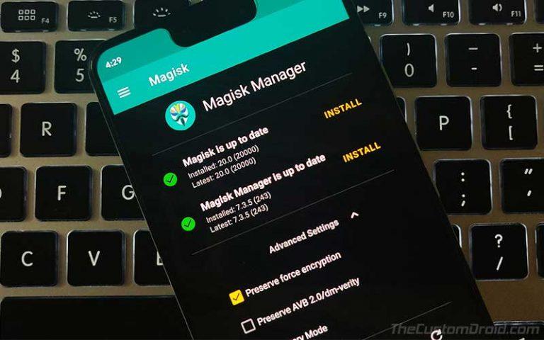 Загрузите стабильный Magisk 20.0 с полной поддержкой Android 10