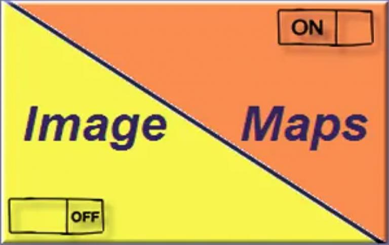 Как создать карты изображений в HTML?
