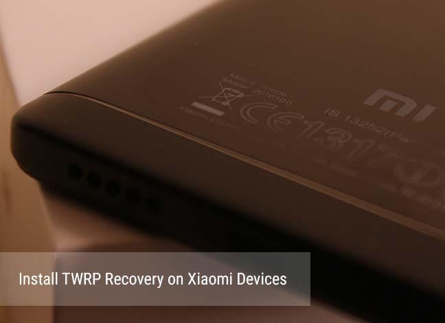 Как установить TWRP Recovery на устройства Xiaomi и Redmi