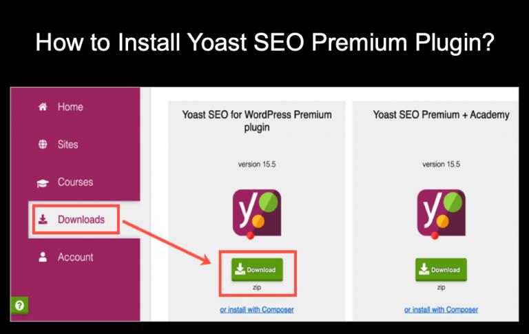 Как установить плагин Yoast SEO Premium?