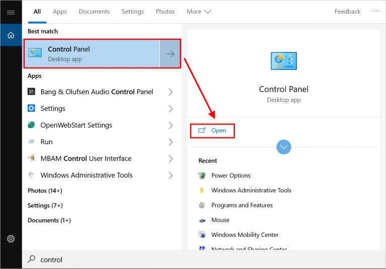 Как настроить параметры питания и закрытие крышки в Windows 10?