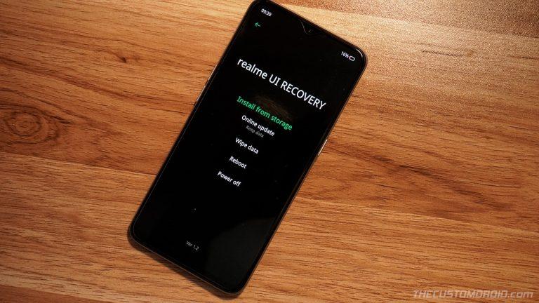 Загрузите Realme X2 Pro в режимах быстрой загрузки и восстановления (Руководство)