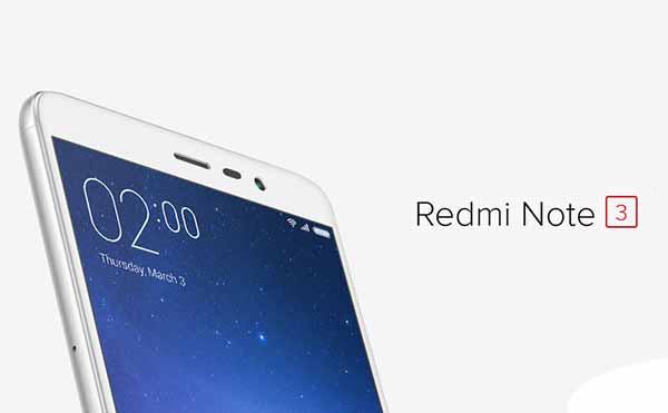 TWRP для Xiaomi Redmi Note 3 теперь доступен
