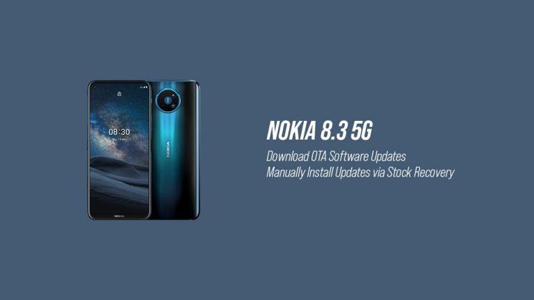 Репозиторий обновлений программного обеспечения Nokia 8.3 OTA (последнее обновление: январь 2021 г.)