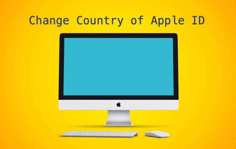 Как изменить страну вашего Apple ID?