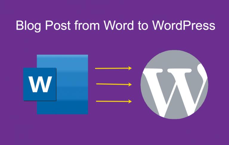 Как поделиться публикацией в блоге из Microsoft Word в WordPress?
