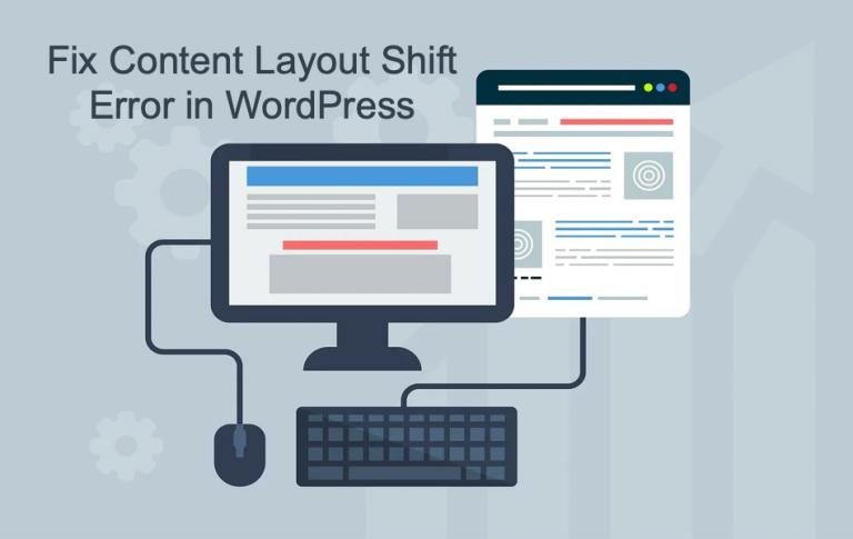 Как исправить кумулятивную ошибку сдвига макета в WordPress?