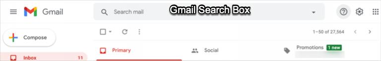 Как использовать операторы поиска в Gmail?