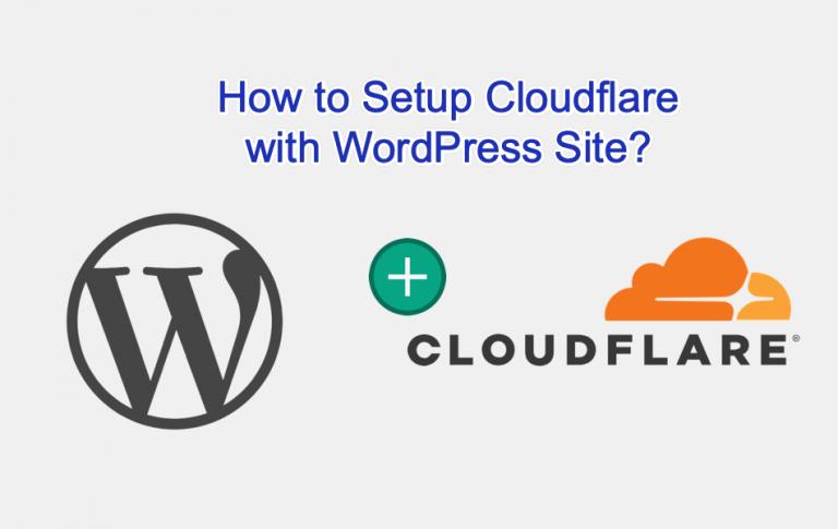 Как настроить Cloudflare с сайтом WordPress?