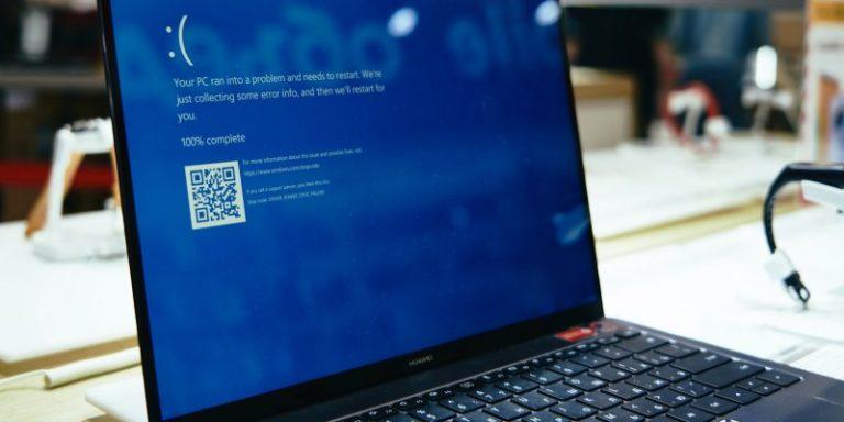 Как исправить ошибку неверной информации о конфигурации системы в Windows 10