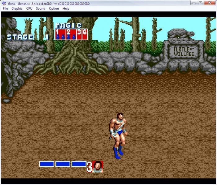 Gens – скачать бесплатно эмулятор SEGA Mega Drive для ПК