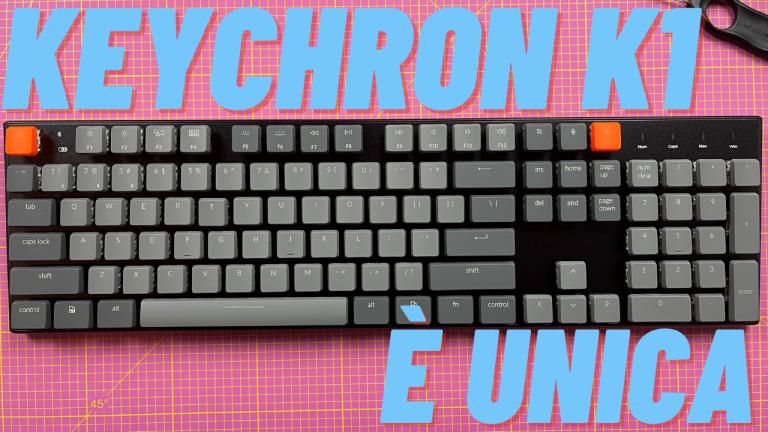 Обзор Keychron K1: идеальная низкопрофильная механическая клавиатура