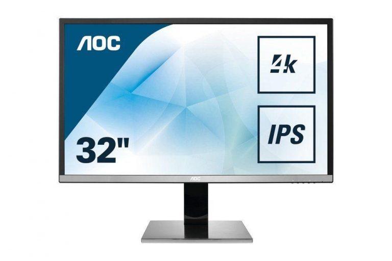 Обзор монитора AOC U3277PWQU, очень хороший 32-дюймовый 4k