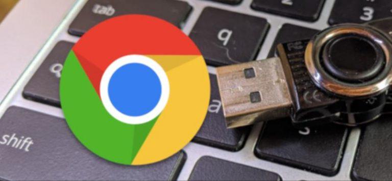 Как безопасно извлечь USB-флешку из Chromebook
