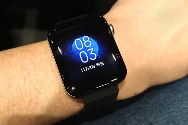 Xiaomi, первое обновление для Mi Watch: улучшения и исправления